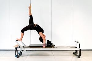 Pilates Gerätetraining am Reformer