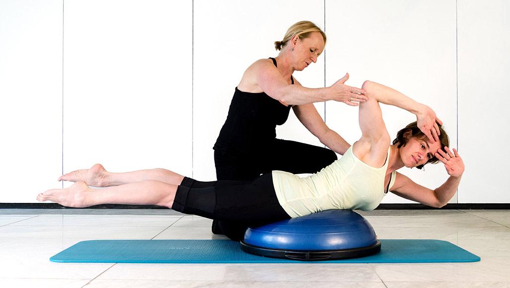 Pilates Einzeltraining