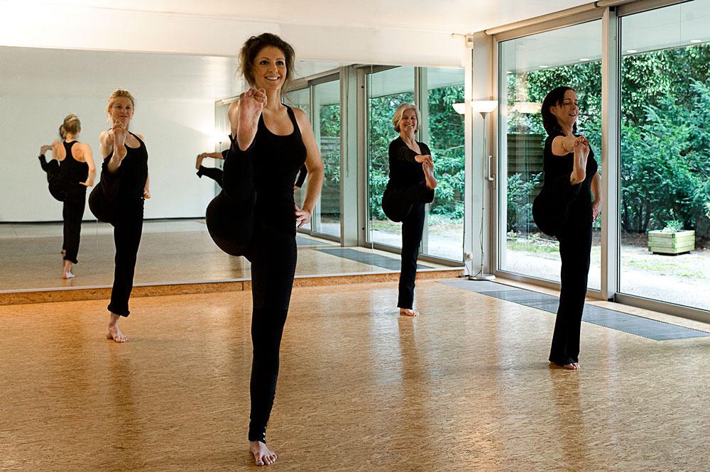 Yoga dynamisch - Gruppenfoto